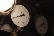 Vintage Industrial Manometers