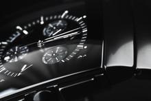 Luxury Wrist Watch Made Of Bla...