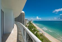 View From A Condominium Balcon...