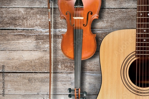 Acoustic. Fototapeta
