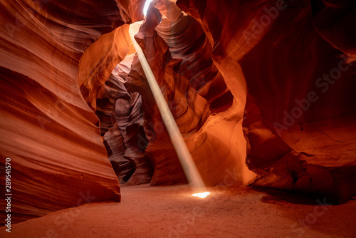 Autocollant pour porte Antilope Slot Canyon - Page Arizona USA