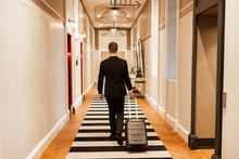 Anonymous Businessman Walking ...