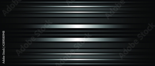 Dark Abstract background texture of horizontal lines Canvas