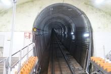 A Tunnel Into A Mountain
