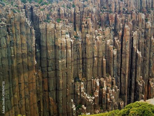 Dolerite landscape at Cape Raoul Tasmania Wallpaper Mural