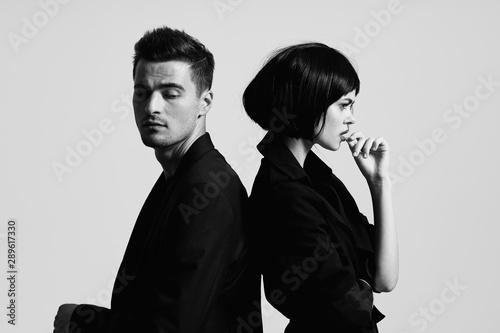 Fotografia  man and woman
