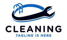 Pool Cleaning Services Logo