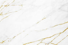 White Gold Marble Texture Patt...