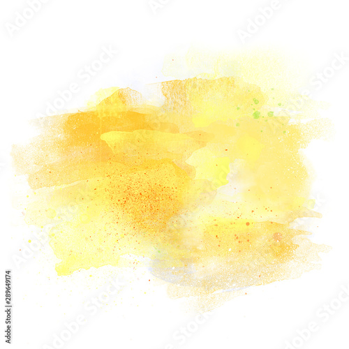 Photo Artistic watercolor aquarelle background isolated