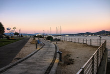 Seafront Of Golfo Aranci, In S...