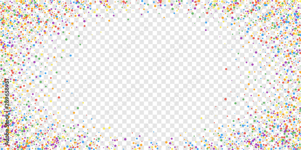 Fototapety, obrazy: Festive confetti. Celebration stars. Joyous confet