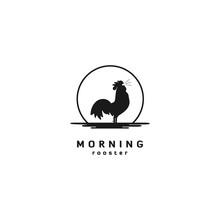 Vintage Retro Rooster Logo / S...