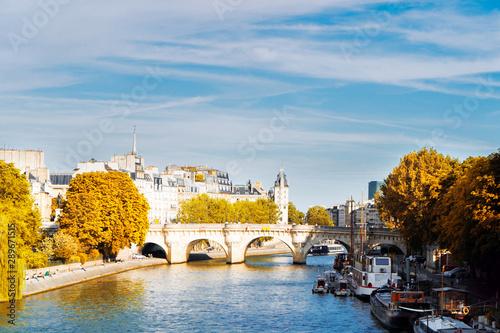 Poster de jardin Paris Pont des Arts, Paris, France
