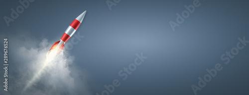 Carta da parati  Erfolg - Durchstarten - Rakete