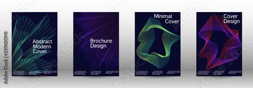 Fotografía  Cover design template set