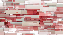 Abstract Background Of Cubes. ...