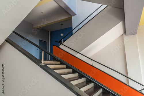 Fotografia Treppenaufgang Bauhaus Dessau
