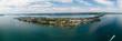 canvas print picture - Panorama der Insel Reichenau am Bodensee