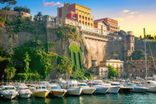 Port Marina Grande In Sorrento...