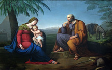 Holy Family, Altarpiece In The...