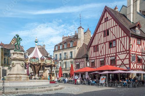 Fotografie, Tablou  Place François Rude à Dijon