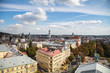 Panoramic view from roof of Lviv Opera House