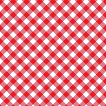 Red Seamless Table Cloth Textu...