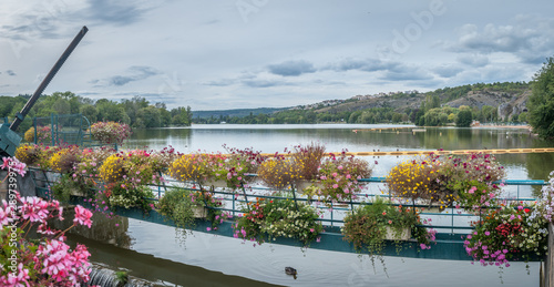 Fotografie, Obraz Lac de Kir à Dijon