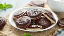 Jaffa Cakes Sweet Cookies With...