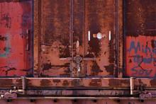 Rusting Door And Door Handle O...