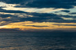 Sunset dramatic pastel sea sky and cloud background