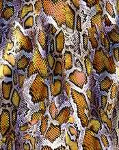 Watercolor Snakeskin Leather Texture Pattern Design