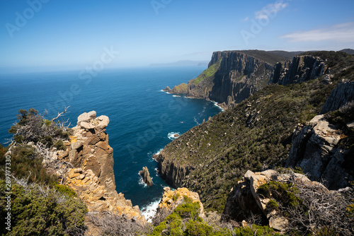Vászonkép Beautiful coast landscape of Tasman National Park in Tasman peninsula, Tasmania, Australia