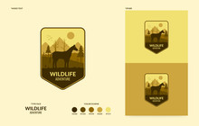 Wildlife Logo With Walking Hor...