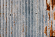 Rusted Galvanized Iron Texture...