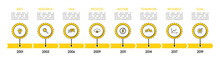 Simple Timeline Infographic Wi...