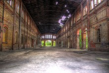 Urban Industrie Ruine Tonemapping