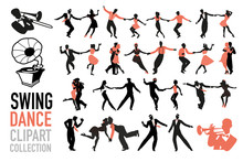 Swing Dance Clipart Collection...
