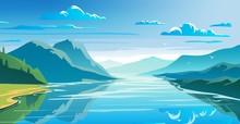 Natural Landscape, Mountains A...