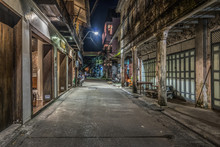 Old Street Of Chanthaburi By N...