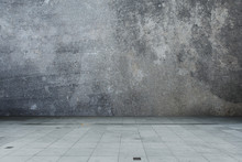 Concrete Wall And Floor Cement...