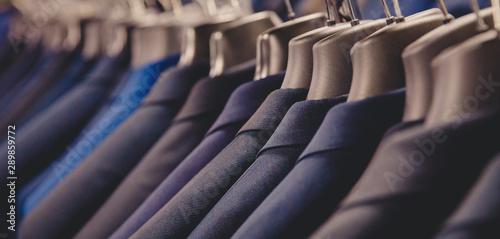 Photo Shop jacket men series, business hanger clothing