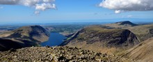 Looking Over Wast Water To The...