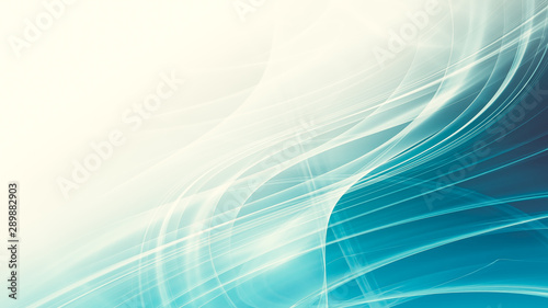 Poster Abstract wave abstract blue background