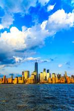 Lower Manhattan Panorama And H...