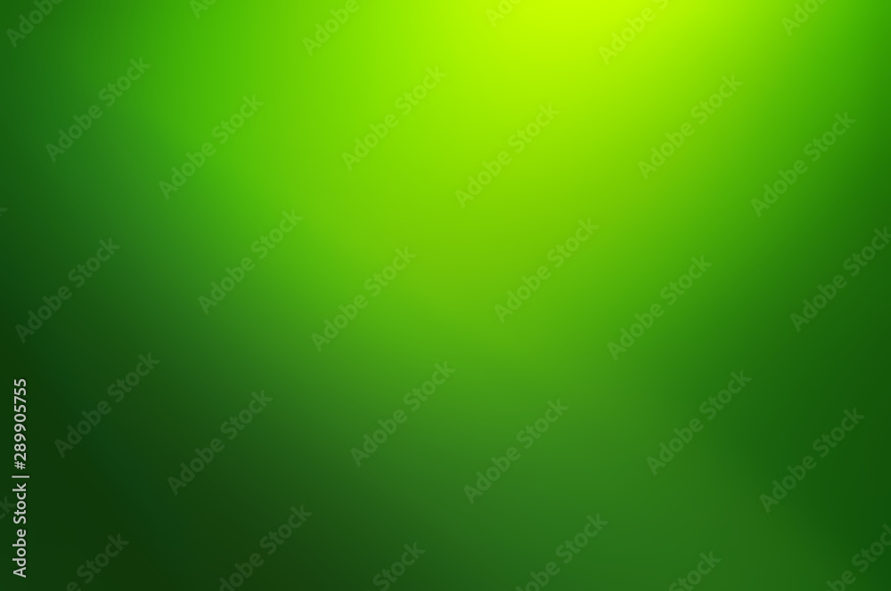 Fototapety, obrazy: Blurred Abstract green gradient background.Graphic design,banner or poster wallpaper associated with serenity cleanness ecology and intellect technology concept image backdrop.