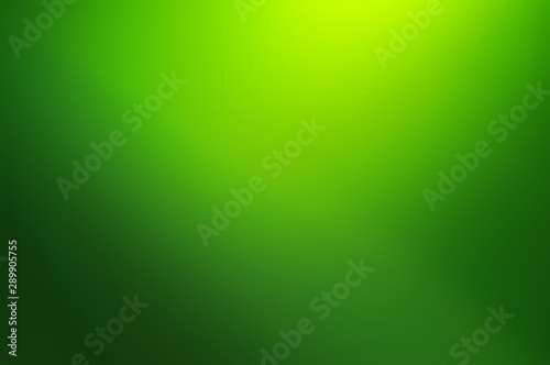 Blurred Abstract green gradient background Canvas Print