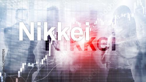 Photo  The Nikkei 225 Stock Average Index