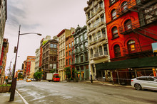Broome St In SoHo District In ...