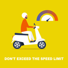 Don't Exceed The Speed Limit. ...